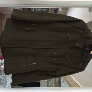 Michael Kors Missy Snap Front Jacket